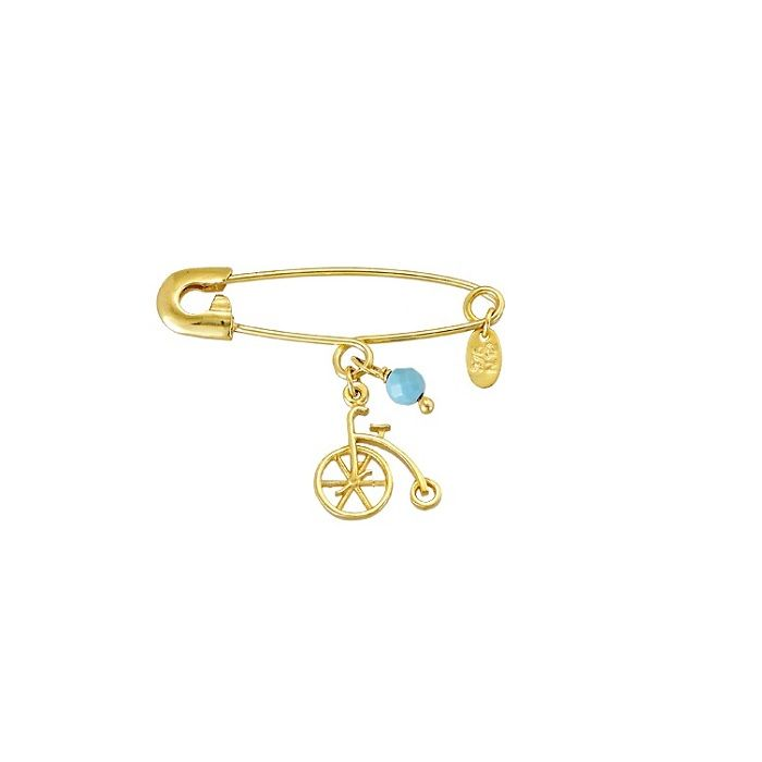 Georgatos Jewel   Παραμάνα παιδική 9Κ χρυσό με κρεμαστά - JEWEL.GEORGATOS.GR b39e2e958fd