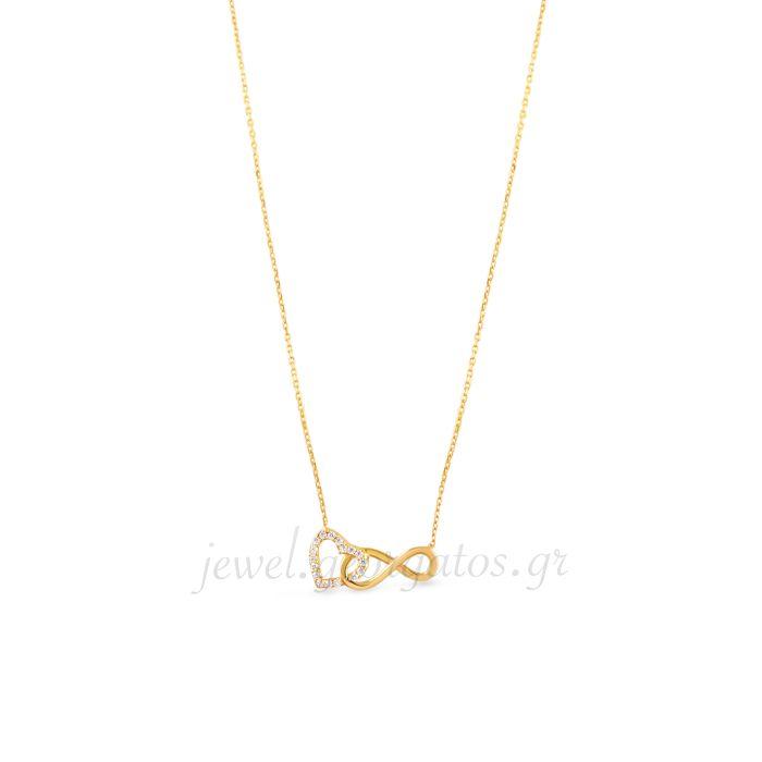 Georgatos Jewel   Κολιέ Κίτρινο Χρυσό 14Κ - JEWEL.GEORGATOS.GR daf60812ac7
